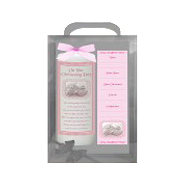 17295-958412_christening_gingham&&shoes_pink_6inch_white_candle