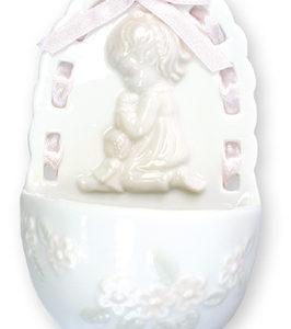 Porcelain Font Praying Girl