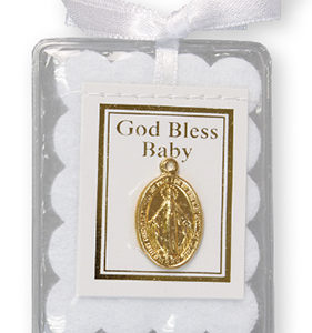 Baby Blessing With Miraculous Medal