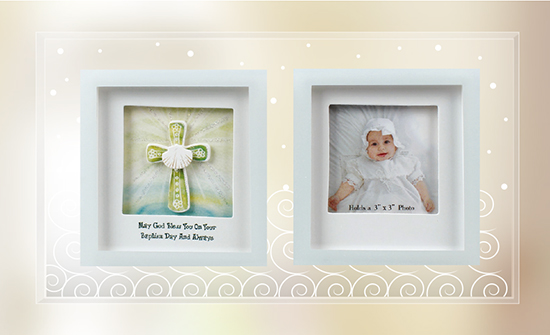 Glass Photo Frame – Baptism 1