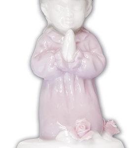 Coloured Ceramic Statue Girl