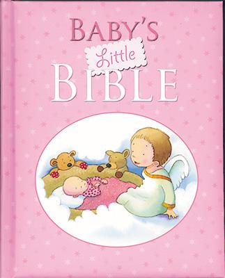 Padded Book Babys Little Bible Girl