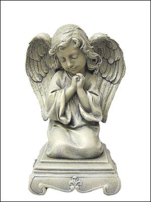 Resin Grave Statue - 9.5 Praying Angel