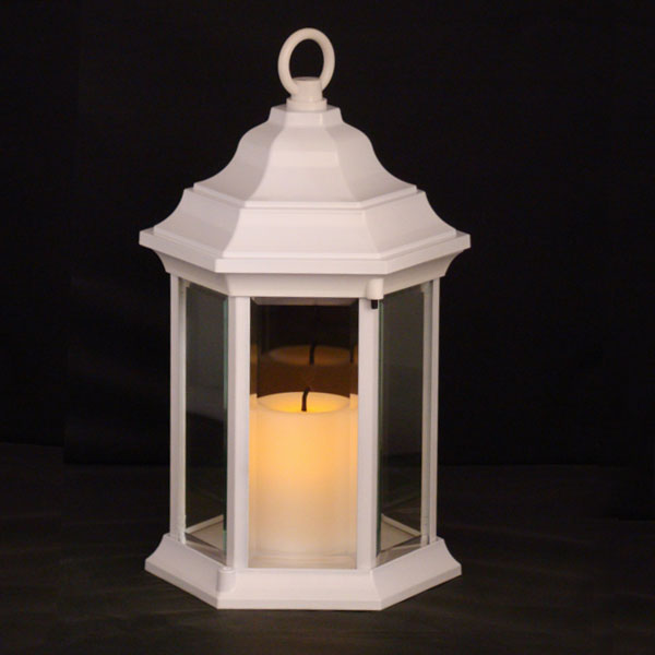 6100W-White-Sensor-Lantern