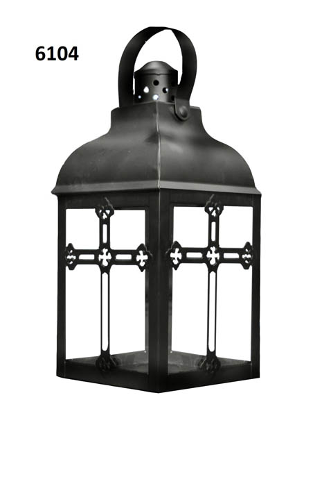Small Cross Candle Lantern