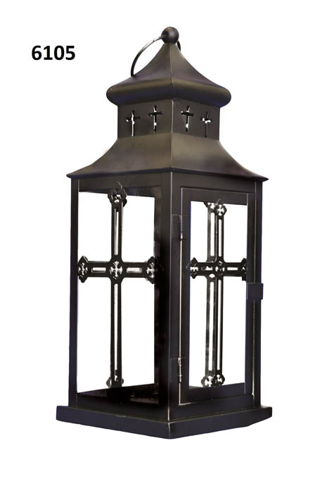Large Cross Lantern
