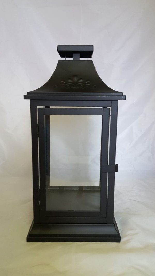 Black Lantern with Clear Glass 1