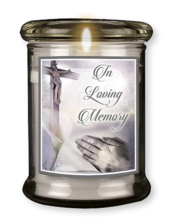LED Glass Candle Holder Memory