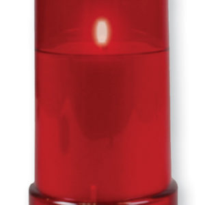 Battery Grave Light Red
