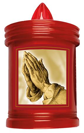 Battery Grave Light Praying Hands 1