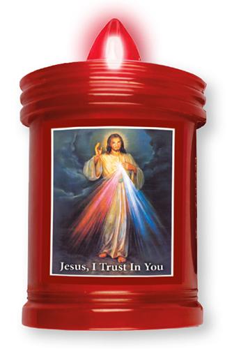 Battery Grave Light Divine Mercy 1