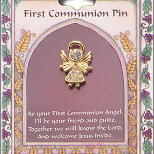 Communion Angel Brooch