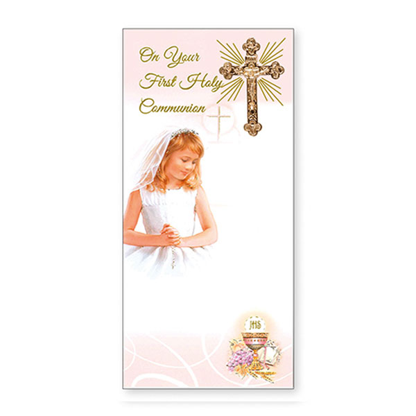 C2319-Communion-Boxed-Card-Girl