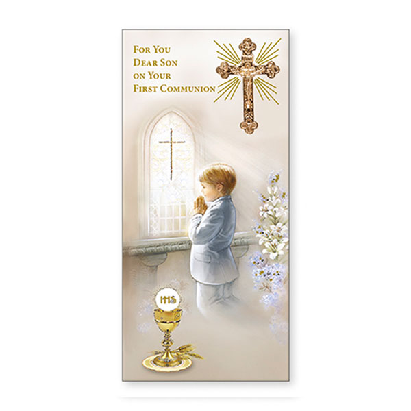 C2321-Communion-Boxed-Card-Son
