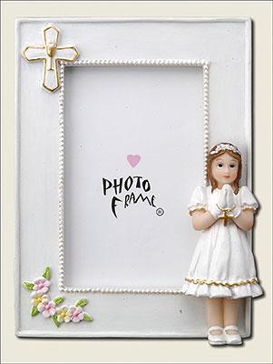 Communion Photo Frame Girl