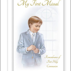 Communion Book Hard Back Boy