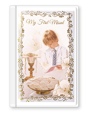 Communion Book Hardback Boy