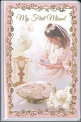 Communion Book Hardback Girl