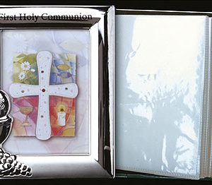 Metal Photo Frame Album Communion