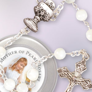 Communion Rosary Mother of Pearl