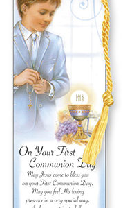 Bookmark - Communion Boy