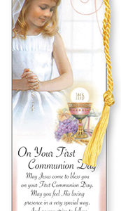 Bookmark - Communion Girl