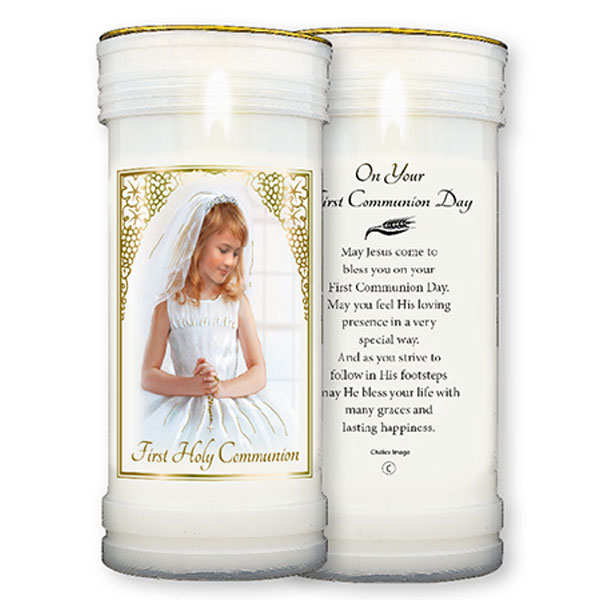 C86692-Pillar-Candle-First-Holy-Communion-Girl