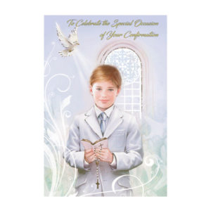 Confirmation-Card-Boy