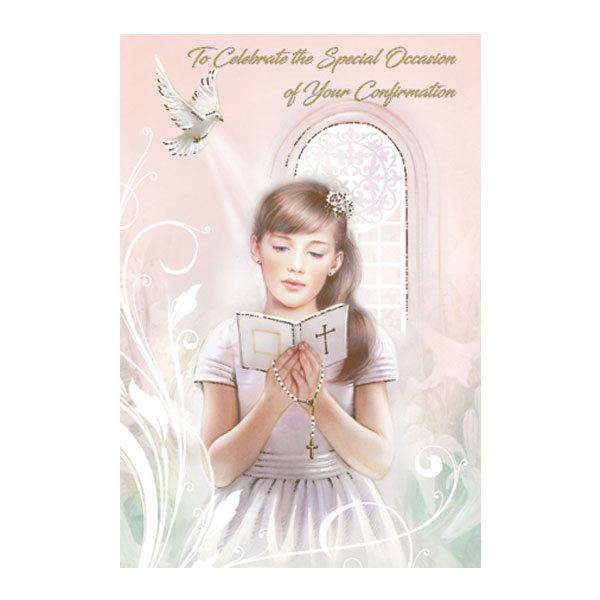 F28218-Confirmation-Card-Girl