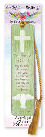 Confirmation Art Metal Bookmark