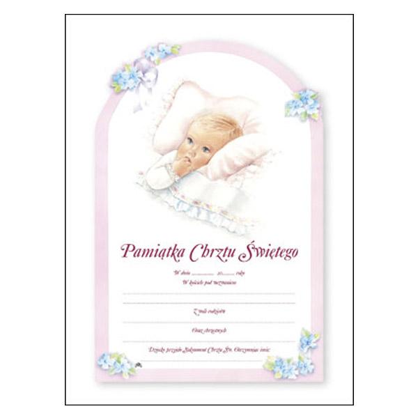POL-8-Baptismal-Certificate-Girl-Polish-Wording