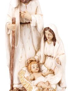 10 inch Nativity Set - Resin - Holy Family