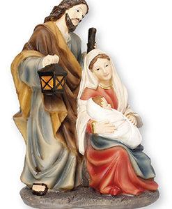 6 inch Nativity Set - Resin - Holy Family Nativity Scene