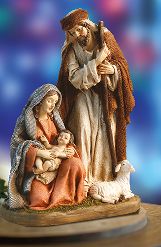 7.5 inch Nativity Set - Resin - Holy Family