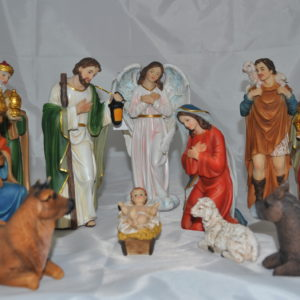8 inch - 11 Piece Nativity Set