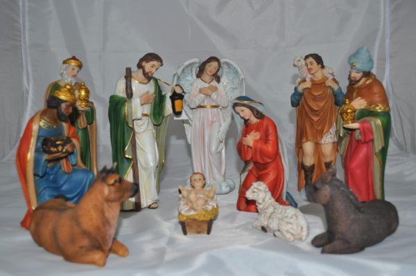 8 inch – 11 Piece Nativity Set 1