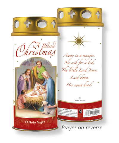 Christmas Blessings Candle  1