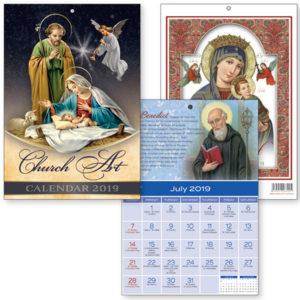 Church Art Calendar 2019.