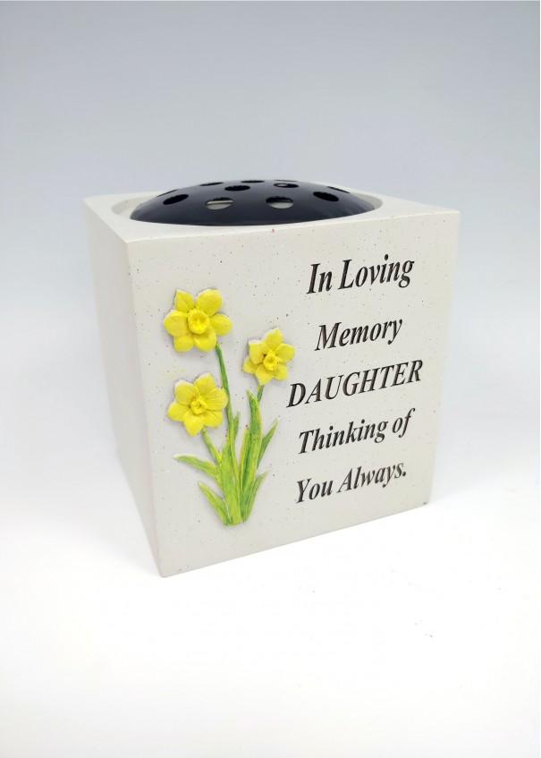 Daughter Daffodil Rose Bowl.