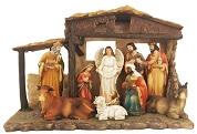 Large Nativity Set & Stable  1