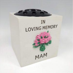 Mam Pink Flower Rose Bowl.