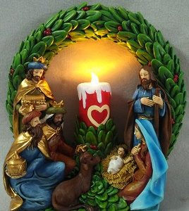 Outdoor Decoration Nativity Set with Light