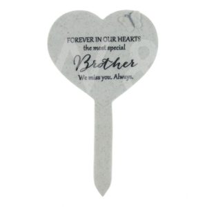 Thoughts Of You - Brother - Heart Graveside Stake.