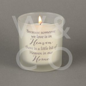 Thoughts Of You - Footprint - 150G Candle.