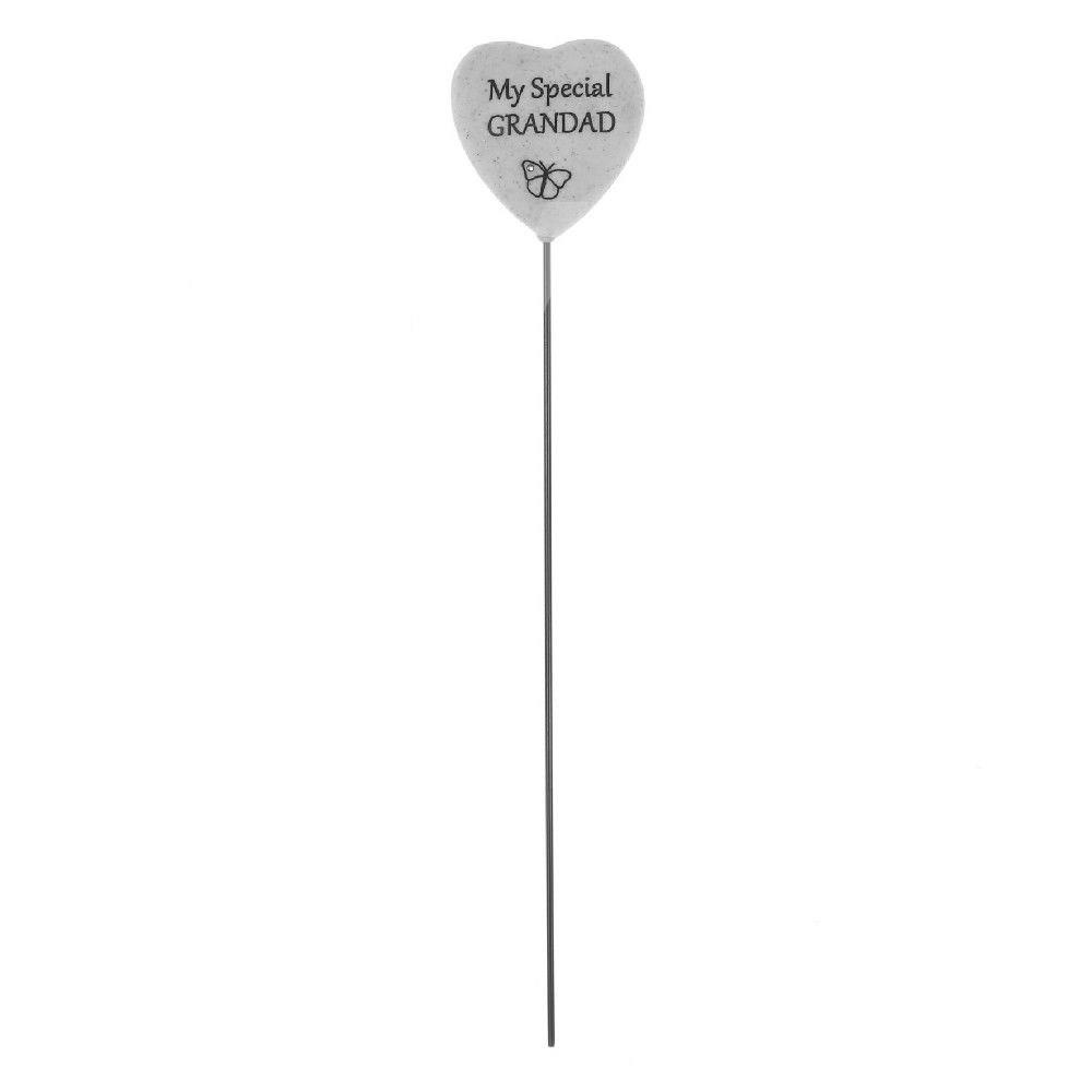 Thoughts Of You - Grandad - Heart On a Stick.