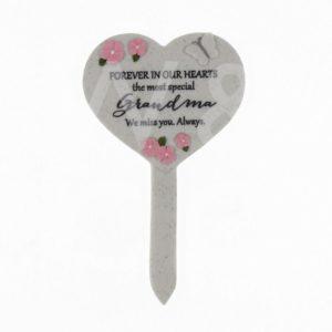 Thoughts Of You - Grandma - Heart Graveside Stake.