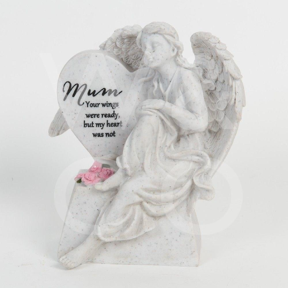 Thoughts of You - Mum - Graveside Angel & Heart.