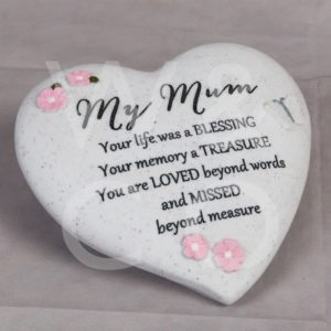 Thoughts of You - My Mum - Graveside Heart.