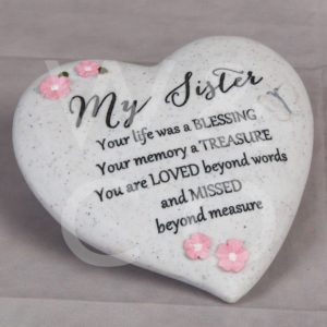 Thoughts of You - My Sister - Graveside Heart.