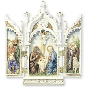 "Veronese Resin Statue 8"" Nativity"